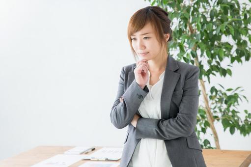 Think businesswoman