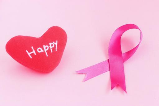 Pink Ribbon (Heart)