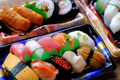 Sushi takeout ①