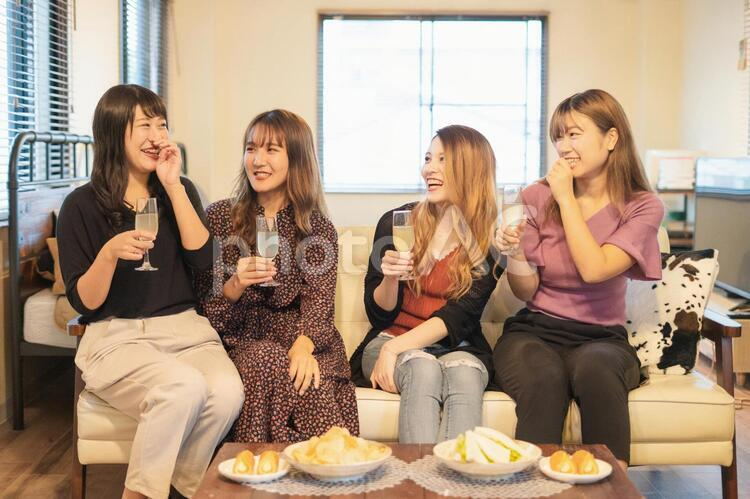 女子会の写真