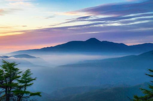 Mt. Tateshina in Shinshu