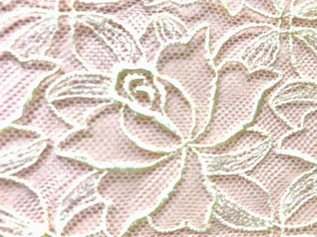 Lace background material 5 pink