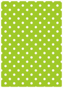 Green background and white dot