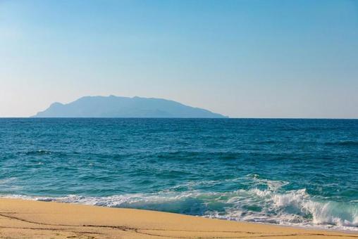 야쿠시마의 바다