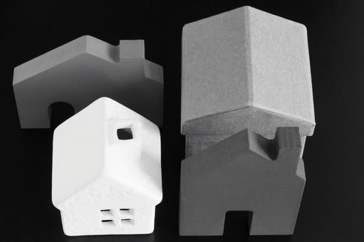 주택 흑백