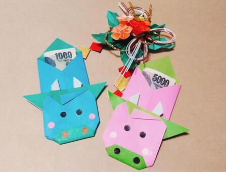 New Year's bag (Pochi bag)
