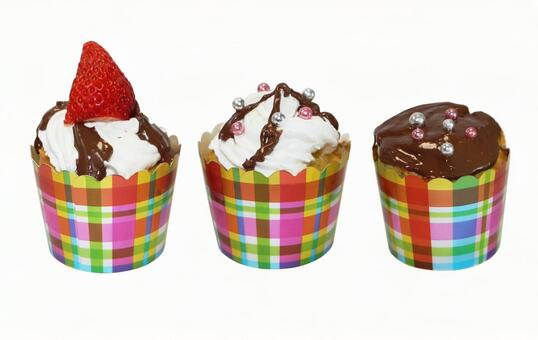 Cupcake (psd background transparent)