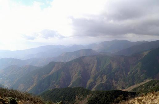 탄자 · 세 타워 정상에서의 풍경