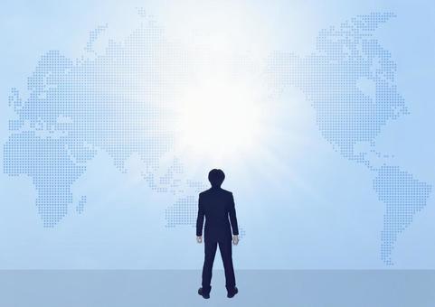 사업 전략 도전 세계지도