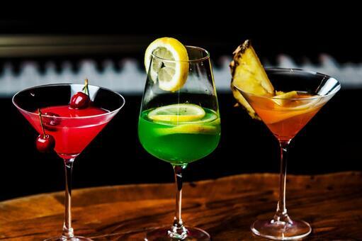 Three cocktails 3