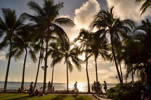 【Hawaii】 Sunset · sunset