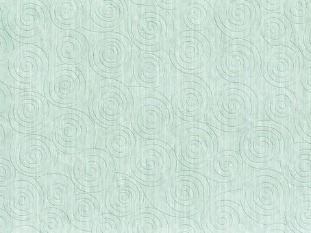 Background whirlpool pattern green system