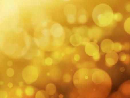 煌々 빛나는 골드 원형 보케 - 크리스마스 판타지