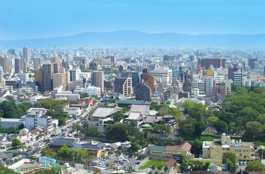 오사카 거리 이코 방면