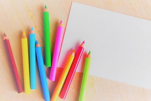 Miniature colored pencils