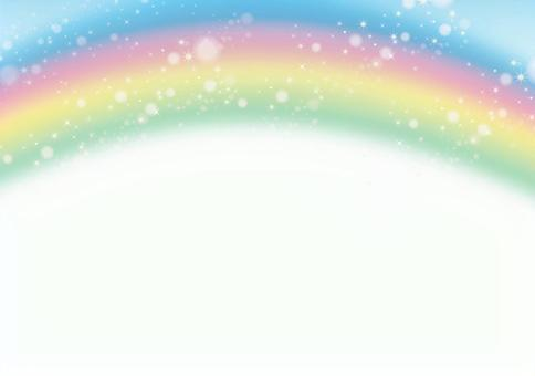 Rainbow and glitter texture 0514
