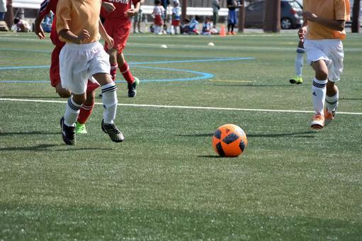 Boy football, district conference, close tactics 8