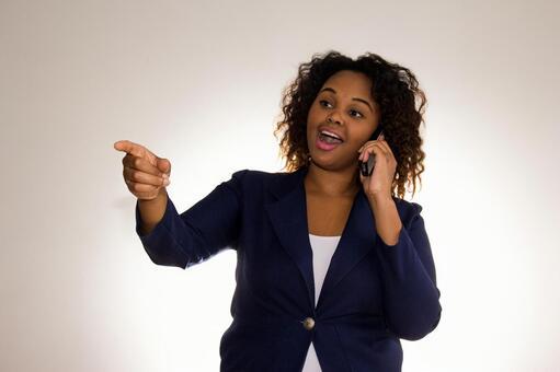 Black female mobile phone 4