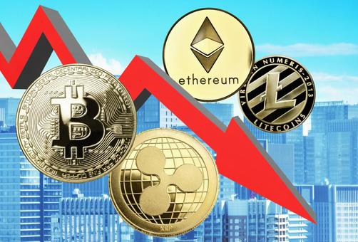 Bitcoin alto coin virtual currency downtrend
