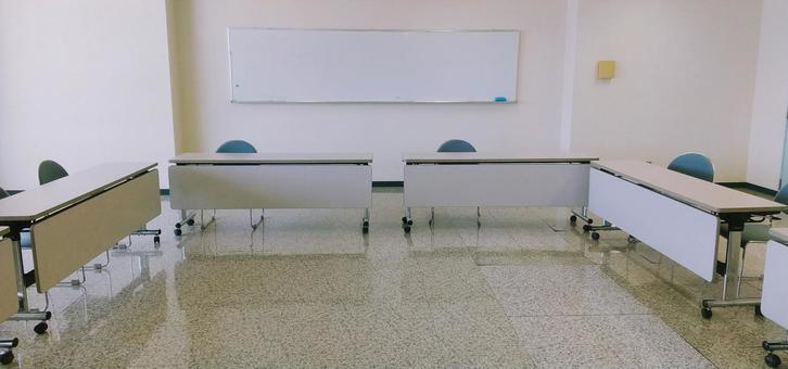 Social distance meeting room