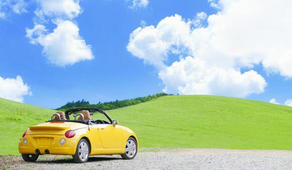 Drive a bright plateau