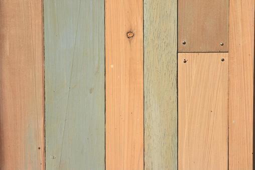 Wood grain wallpaper colorful