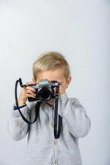 Boy with camera 5