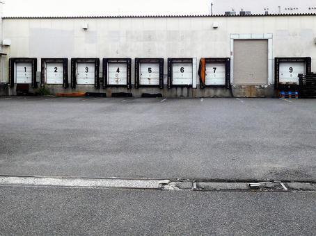 Logistics warehouse shutter
