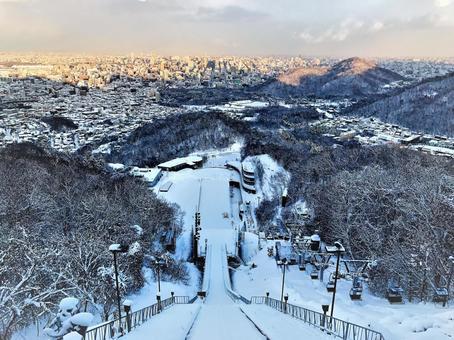 Sapporo Okurayama Observation Deck 1