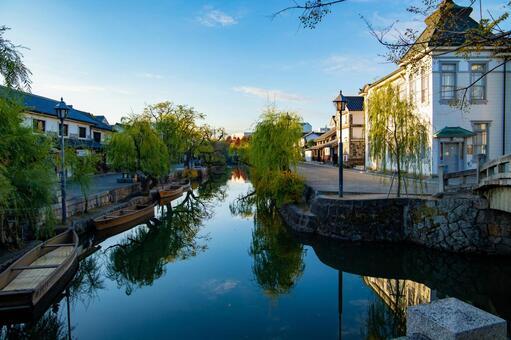 Scenery of Kurashiki Bikan Historical Quarter, Okayama Prefecture