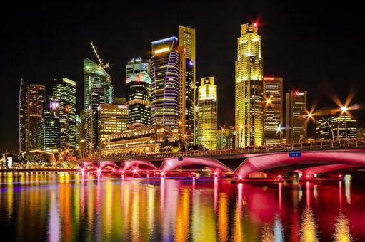 싱가포르의 야경 2