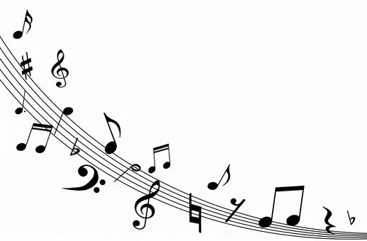 Music notation and musical notes