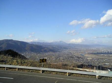 Spring Shinshu wrestling service area