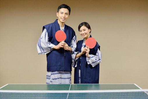 这是乒乓球说到温泉! 1