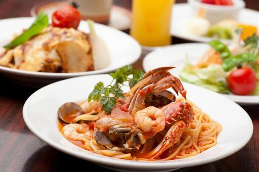 이탈리아 요리 이미지