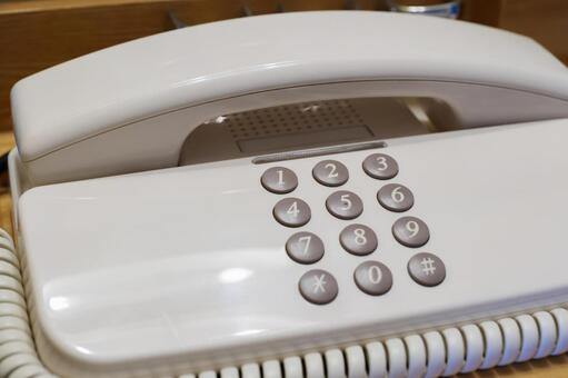 Hotel extension phone