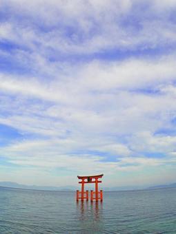 Shiroki Shrine · Lake Middle Otorii 7