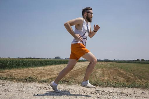 Men jogging 11