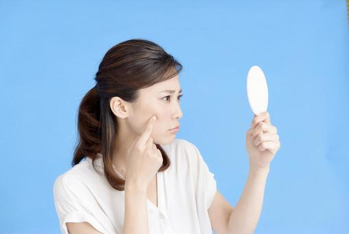 Women who care about acne 1