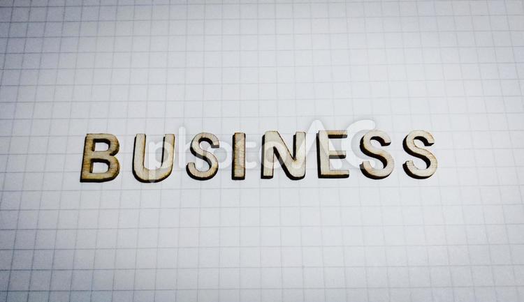 アルファベット文字(ビジネス、business)の写真