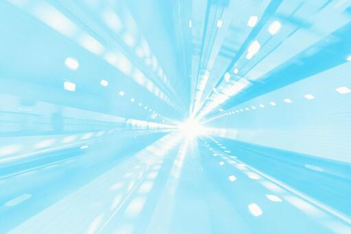 Abstract background material texture that gives a feeling of light blue speed