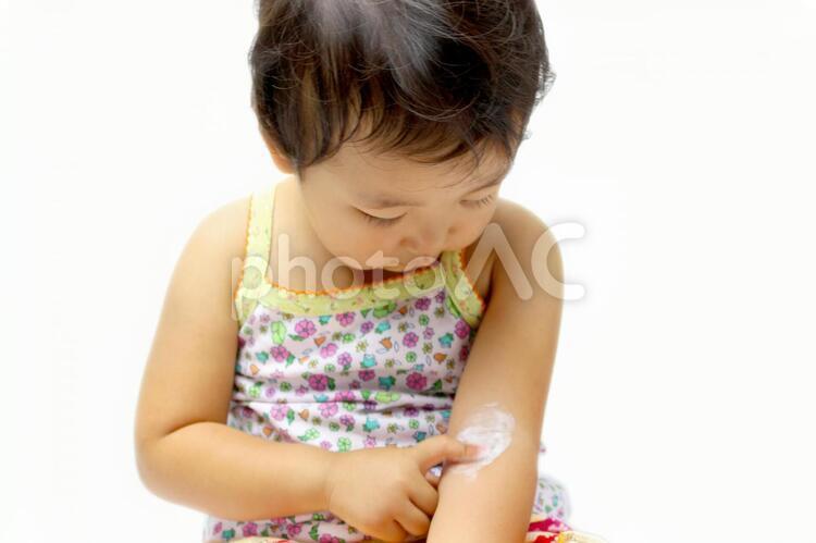 幼児 塗薬の写真