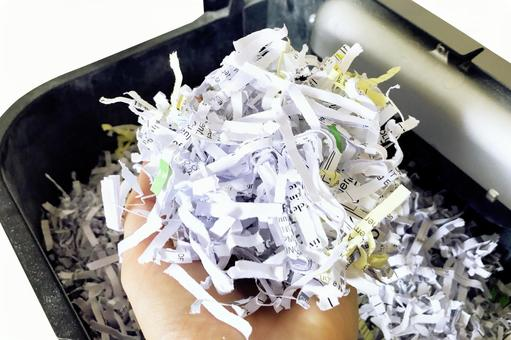 Documents shredded