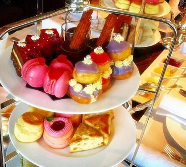 A lot of dessert!