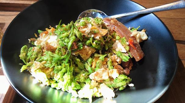 泰國菜花芽山藥