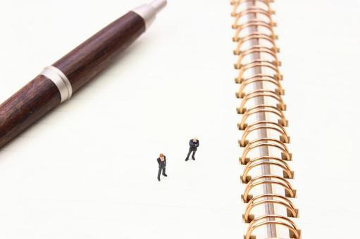 Miniature businessman writing instrument 4
