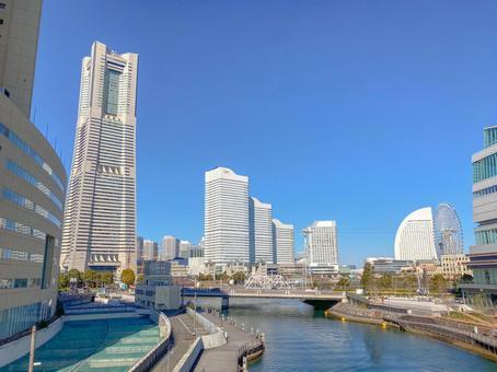 【카나가와 현】 요코하마 미나토 미라이의 풍경
