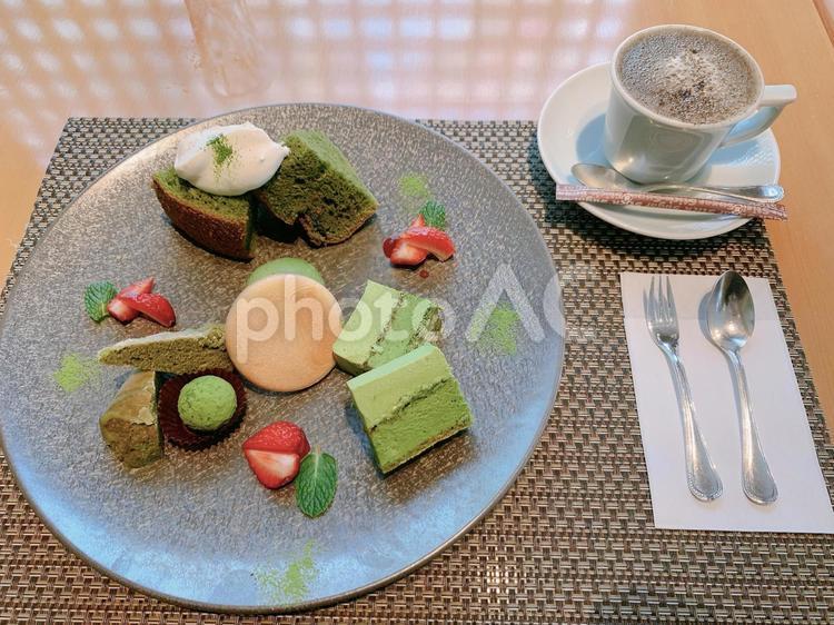お抹茶デザートの写真
