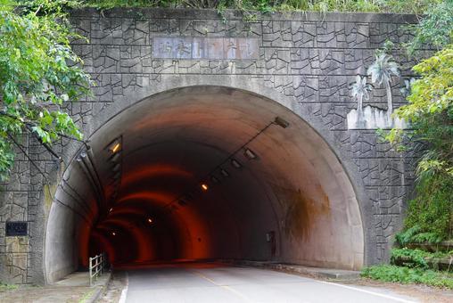 Iriomote Island tunnel entrance