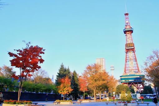 Autumn's Odori Park